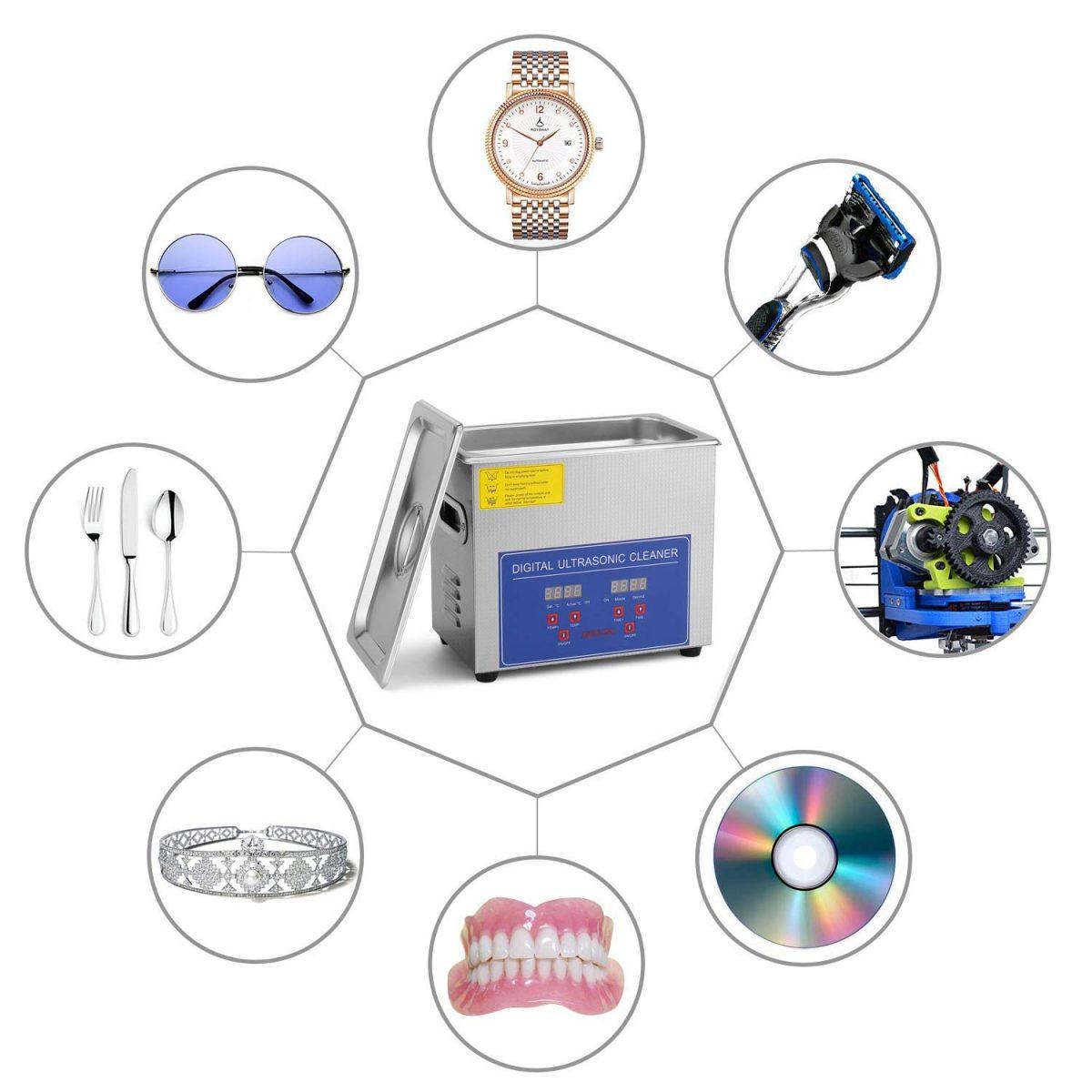 6 liter ultrasoon reiniger toepassingen