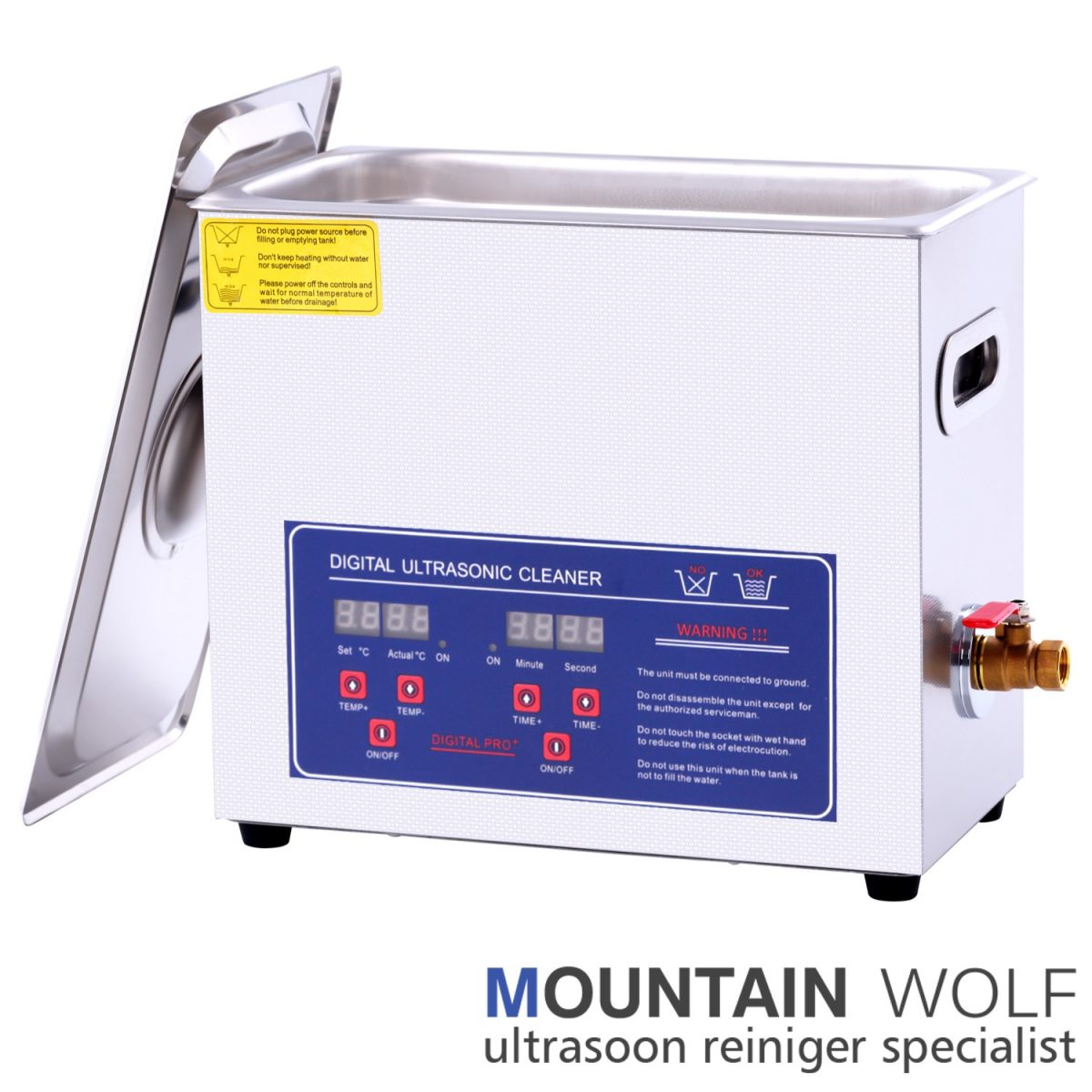 Ultrasoon reiniger 6 liter