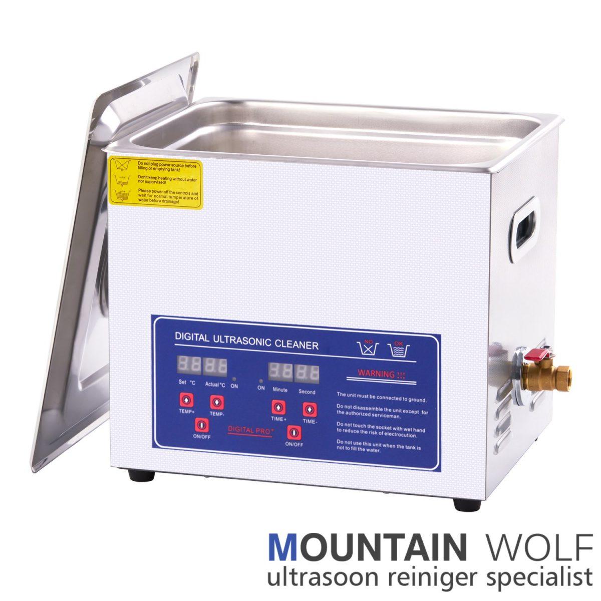 10 Liter Ultrasoon reinigingsapparaat