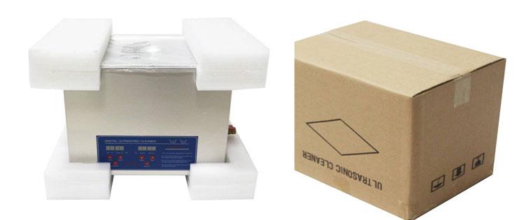 10 liter ultrasoon reiniger verpakking