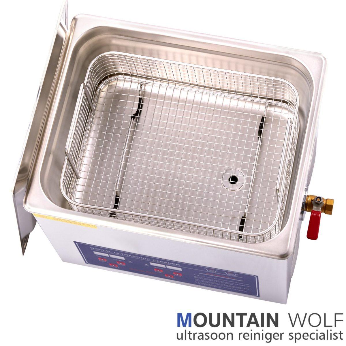 Ultrasoon reinigingsapparaat 10 liter